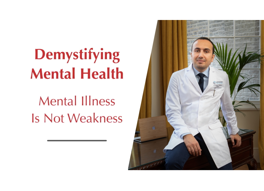 demystifying mental health Mental illness is not Weakness